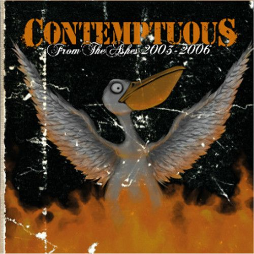 "CONTEMPTUOUS ""From The Ashes (2003-2006)"" LP (Orange)"