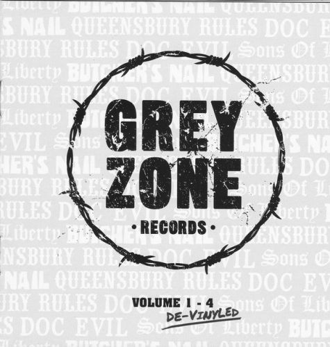 "VARIOUS ARTISTS ""Vol. 1-4 De-vinyled"" (GREY ZONE RECORDS) CD"