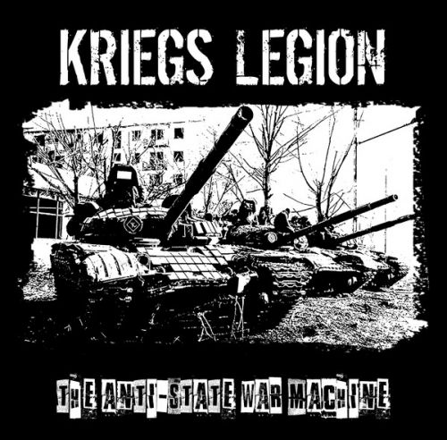 "KRIEGS LEGION ‎– ""The Anti-State War Machine"" EP"