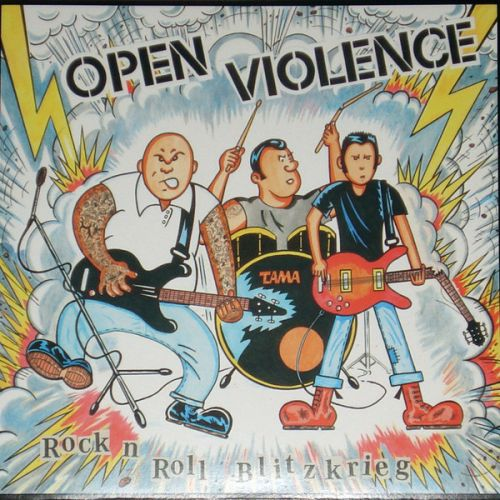 "OPEN VIOLENCE ""Rock N Roll Blitzkrieg"" CD"