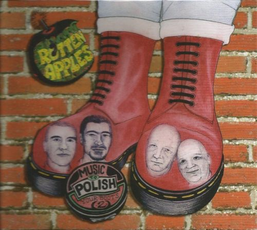 """ROTTEN APPLES """"Music To Polish Your Boots To"""" CD (Digipack)"""