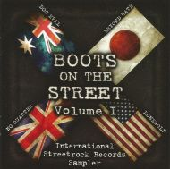 """VARIOUS ARTISTS """"Boots on The Street Vol. 1"""" CD"""