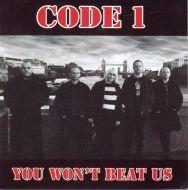 "CODE 1 ""You Won't Beat Us"" CD"