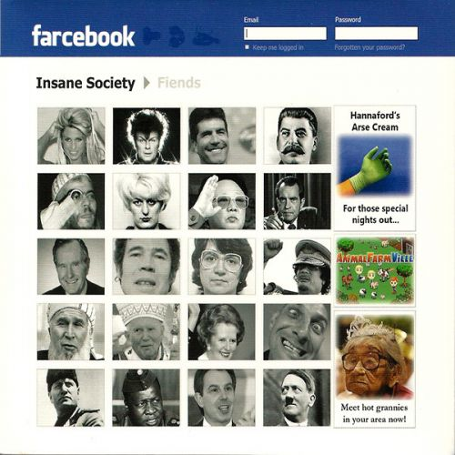 "INSANE SOCIETY ""Farcebook"" CD (Digipack)"