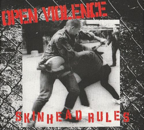 "OPEN VIOLENCE ""Skinhead Rules"" MCD (Digipack)"