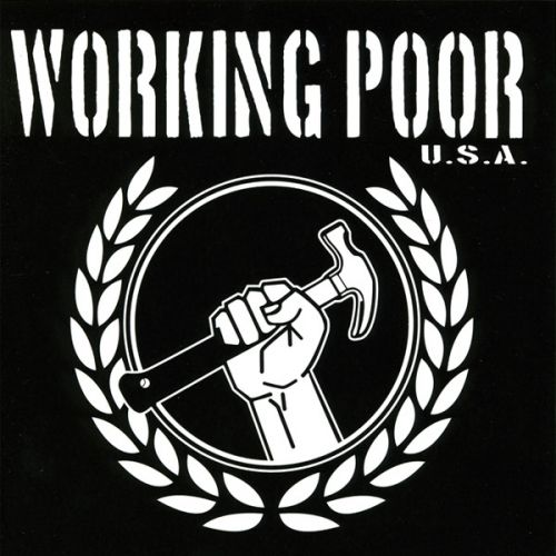 "WORKING POOR USA ""Working Poor"" EP (3 Colors)"